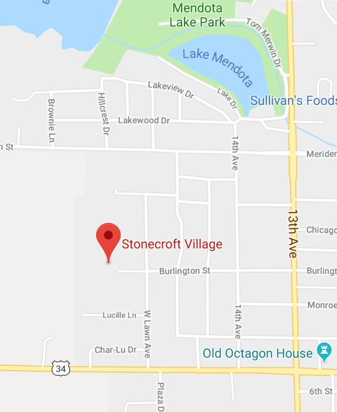 Stonecroft Village Retirement Community Map